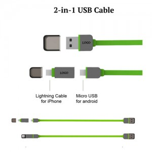2 in 1 USB Cable - NHP8091-76