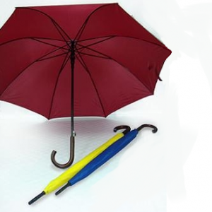 27' Auto Open w Rosewood Handle Umbrella - UXL600PFG-110