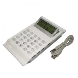 Calculator-w-USB-Port-NUSB3030-156