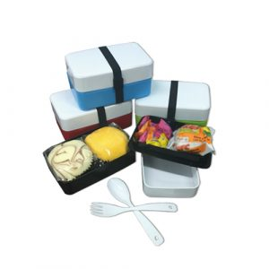 2 Tier Lunch Box - M162-44