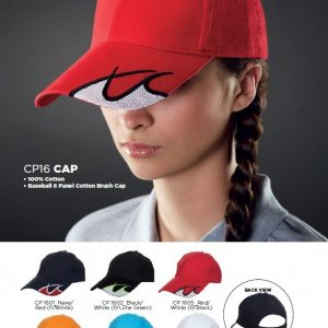 Corporate Gifts Singapore - 100-6-Panel-Cotton-Cap-CP16-56