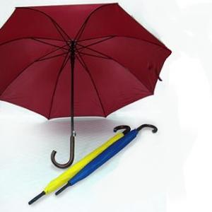 27' Auto Open w Rosewood Handle Umbrella - UXL600PFG-110