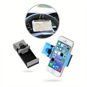Car Steering Wheel Phone Holder - AEMO1001-30